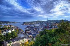 """Arendal, Norway: I found out my husband's Great-Grandmother emigrated from there!  She called it, """"One of the most beautiful, picturesque places in the world."""""""