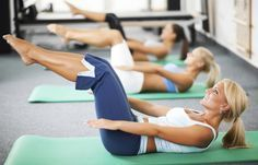 Learn the top benefits of the Pilates method of exercise training. Pilates does more than create flat abs, tone the body, and support weight loss. Pilates Training, Pilates Workout Routine, Fitness Workouts, Sport Fitness, Interval Training, Body Fitness, Easy Workouts, Fitness Tips, Fitness Motivation
