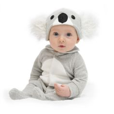 Koala Bear baby & toddler costume with hat, giftboxed - hardtofind.