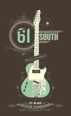 St. Blues posters by Chuck Howard, via Behance