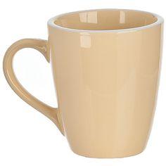 Pastel Yellow Mugs, Set of 4 (€9,16) ❤ liked on Polyvore featuring home, kitchen & dining, drinkware, set of four mugs, coloured mugs, stoneware mugs and set of 4 mugs