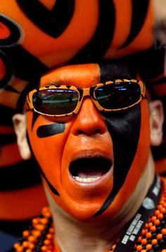 This is too funny this is whodey baby! He's one of my dads friend  from Cincinnati!!!2012 NFL playoffs: Texans vs. Bengals