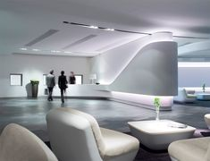 Home Decoration For Small House Corporate Interior Design, Corporate Interiors, Office Interiors, Modern Interior Design, Gray Interior, Futuristic Interior, Futuristic Design, Reception Desk Design, Reception Counter
