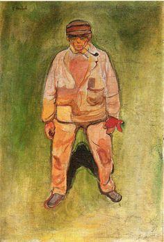 Fisherman on a Green Meadow Edvard Munch (1902)