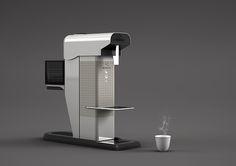 coffee maker design capsule concept - Cerca con Google
