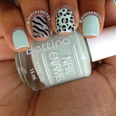 Cheetah and zebra and mint and sparkles, ahhhhh!!  Love.