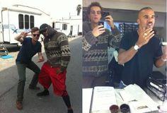 Matthew Gray Gubler + Shemar Moore = Bromance