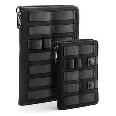 Covered in MOLLE webbing, these TGX Tactical Notebooks are made to withstand abuse.