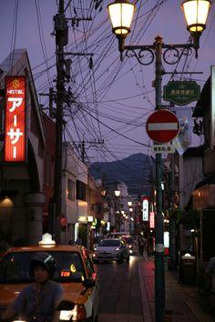 일본 벳부거리