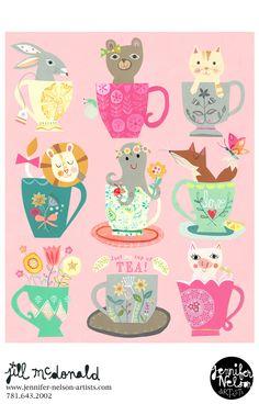 Just MY cuppa tea! Artwork: Jill McDonald