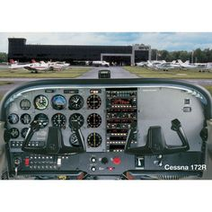 Cessna 172R Poster