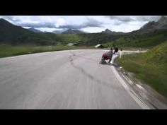 Long-boarding in the Alps!