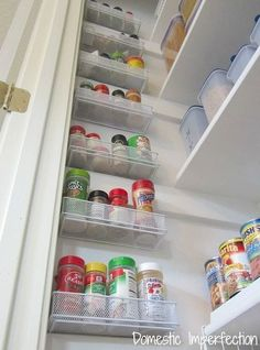 #16. Utilize the empty wall space in your pantry! | 29 Sneaky Tips For Small Space Living