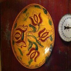 "Redware Breininger Pottery 15"" Serving Platter   eBay  sold  165.00"