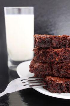 food storage recipe: whole wheat brownies