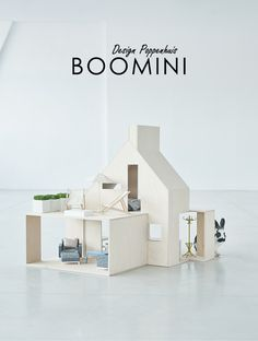 Modern design poppenhuis van het Poolse merk BOOMINI - Moodkids | Moodkids