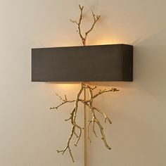 Look would be good - - - Global Views Twig 2 Light Wall Sconce & Reviews | Wayfair