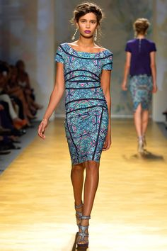 Nicole Miller Spring 2014 Ready-to-Wear Collection Slideshow on Style.com #nyfw #ss2014