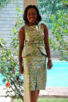 DAY 66: OF GREENS AND GOLD | 100 Days Of African Fashion