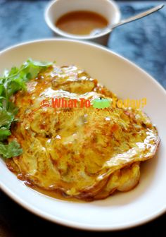 OMELETTE WITH GRAVY / EGG FOO YONG   WHAT TO COOK TODAY?