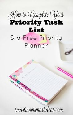 Set your daily priorities and make your day a success  Time management printable   Time management tips   Complete To-do list