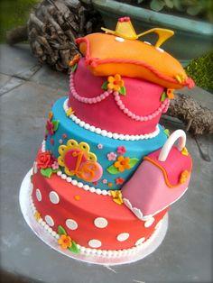 Sweet sixteen birthday cake! Awesome