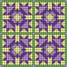 Flower Crochet Quilt Greiff