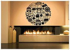 Wall Vinyl Sticker Decals Mural Room Design Pattern Art D...