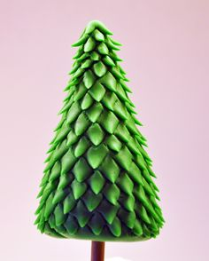 Cute tree for a gingerbread house. - Judy's Cakes: Christmas Tree Tutorial #2