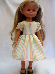 Corolle Les Cheries Doll Clothes Pastel Dress fits by Sewingkat2