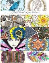 Global Doodle Gems Adult Coloring Books - Adult Coloring Worldwide