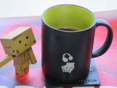 danboard loves a cup of coffee