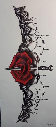 This would make a badass garter tattoo #ad