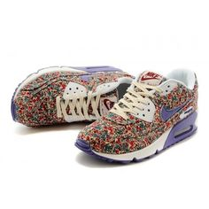 Air Max Flowers Purple White Get Cracking