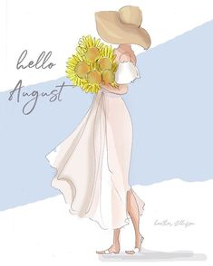 Summer Of Love, Summer Fun, Hello August Images, Hallo August, New Month Wishes, Hello Weekend, Months In A Year, Whimsical Art, Beautiful Artwork