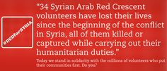 Red for Syria – Standing in Solidarity with Red Crescent Volunteers