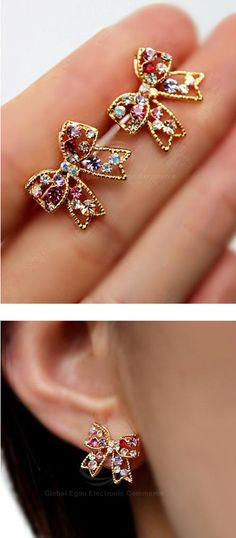 If my ears were pierced, I would have liked to have these...but would they look strange on me? Quite possibly.