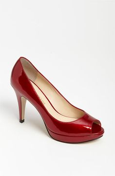 Enzo Angiolini Demario Pump (Nordstrom Exclusive) | Nordstrom (RED PATENT)