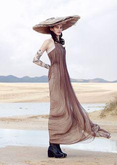 visual optimism; fashion editorials, shows, campaigns & more!: the festive desert: amanda murphy by sean & seng for vogue japan june 2015