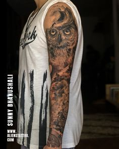 First Tattoo, Get A Tattoo, Couple Tattoos, Tattoos For Guys, Mens Owl Tattoo, Charcoal Artists, Hyper Realistic Tattoo, Tattoo Prices, Shiva Tattoo