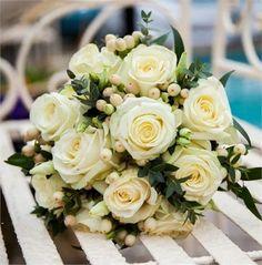Winter wedding bouquet from The Flower Shop