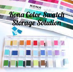 Kona Color Card Storage Solution - http://amzn.to/2jCeN2m - #BoxBox #LegoOrganizer #KonaColor {Sarah @BerryBarnDesigns}