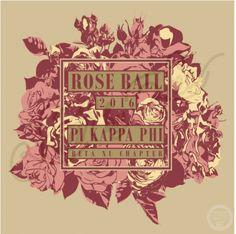 Rose Ball | Pi Kappa Phi | Pi Kapp | Formal | South by Sea | Greek Tee Shirts | Greek Tank Tops | Custom Apparel Design | Custom Greek Apparel | Sorority Tee Shirts | Sorority Tanks | Sorority Shirt Designs