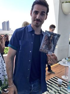 Colin O'Donoghue and Captain Hook action figure