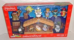 New Fisher Price Little People NATIVITY SET Christmas Jesus Playset #toys #gifts
