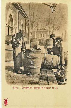 La confection des barriques #barrique #barrel #oldies
