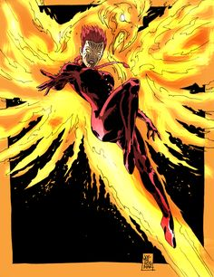 Phoenix- Fire Bird by jdcunard on deviantART