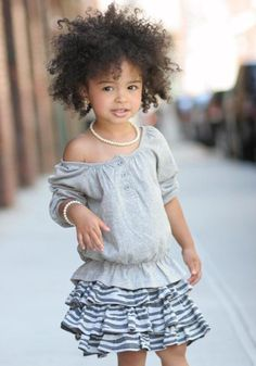 Easy hairstyles for african american little girls 8