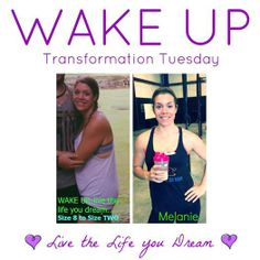 """Another founder of The WAKE UP Project, Mel decided it wasn't enough to be an athlete -- it was time to be incredibly healthy too! This avid crossfitter, yogi, and marathon runner has absolutely found the energy she needed to KILL IT at the gym.  Mel also decided she was sick of working for """"the man"""" and recently left her job to design her own life as a Health & Wellness Coach for The WAKE UP Project."""