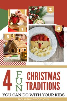 Are you looking for some fun Christmas Traditions for your family? Here are 4 fun traditions you can try this Christmas that your kids are sure to love! #Christmas #traditions #familyfun